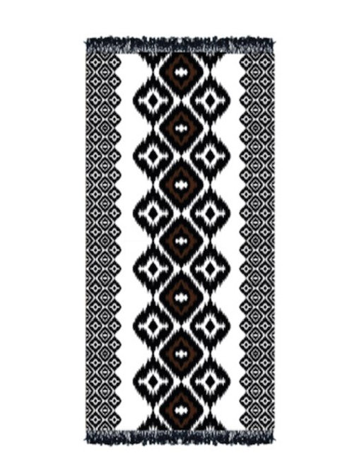 Beachtowel Aztec Black