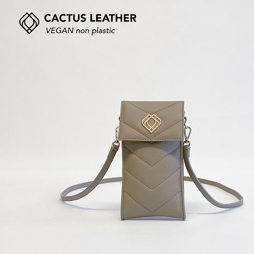 Phonebag Cactus Leather Desert Sand