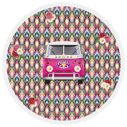 Roundie Towel Hippie Van