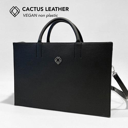BUSINESS BAG - Cactus Leather - Black