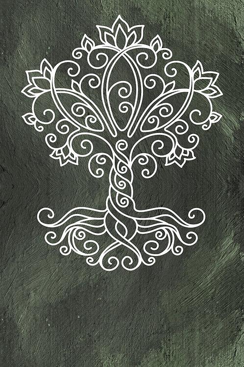 Yogamat Tree of Life