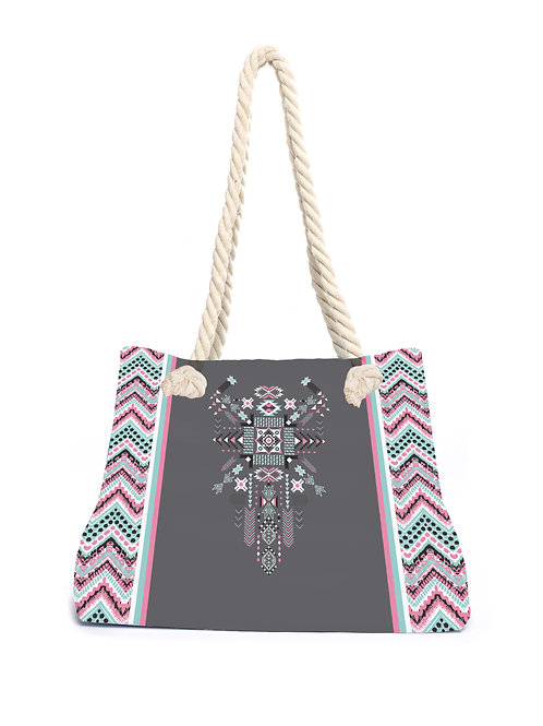 Beachbag Aztec Pink