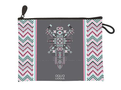 Clutch Aztec Pink