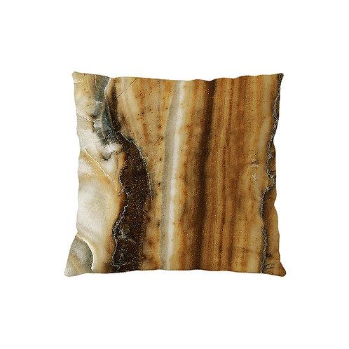 Cushion Marble Ochre