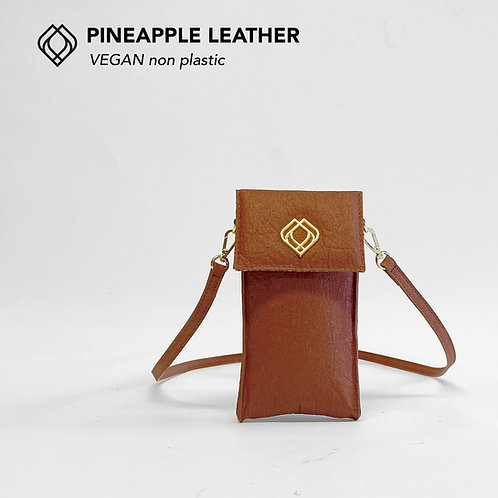 Phonebag Pineapple Leather Cannelli