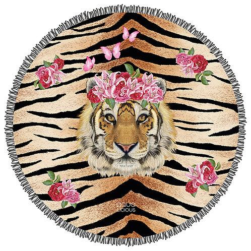Roundie Towel Tiger Lily