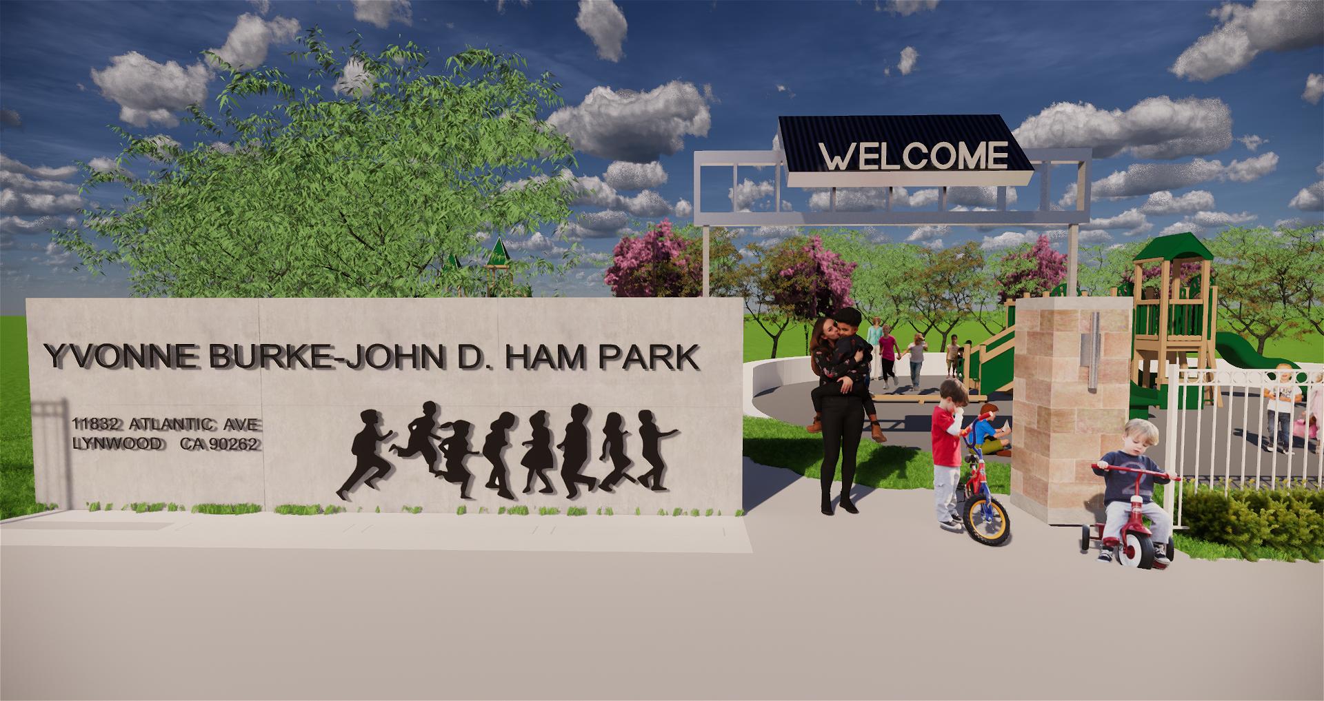 Yvonne Burke-John D. Ham Park
