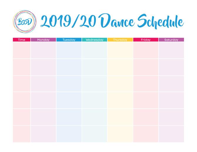 BSSD Schedule