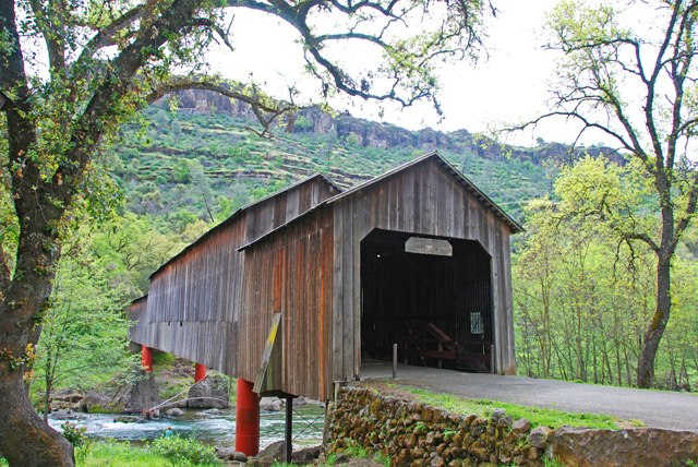 Covered Bridge - Chico, CA