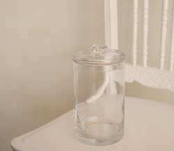 Small Lidded Round Jar