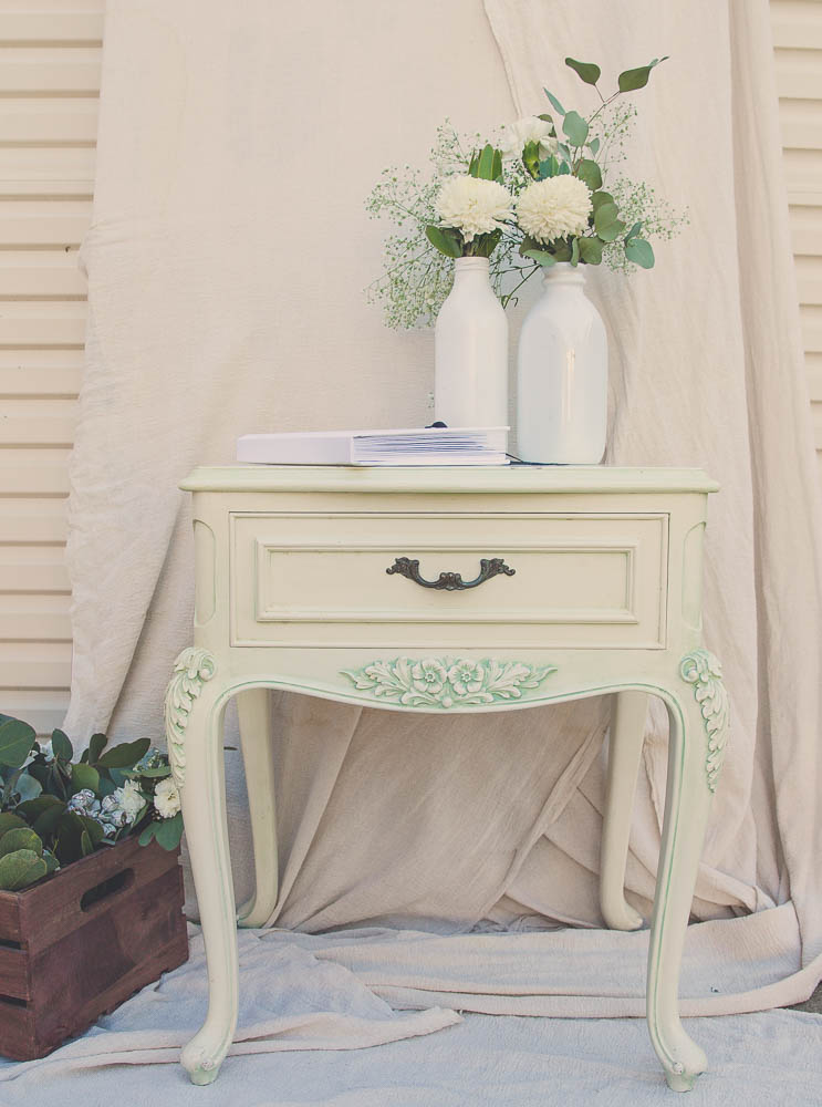 Vintage Style Side Table