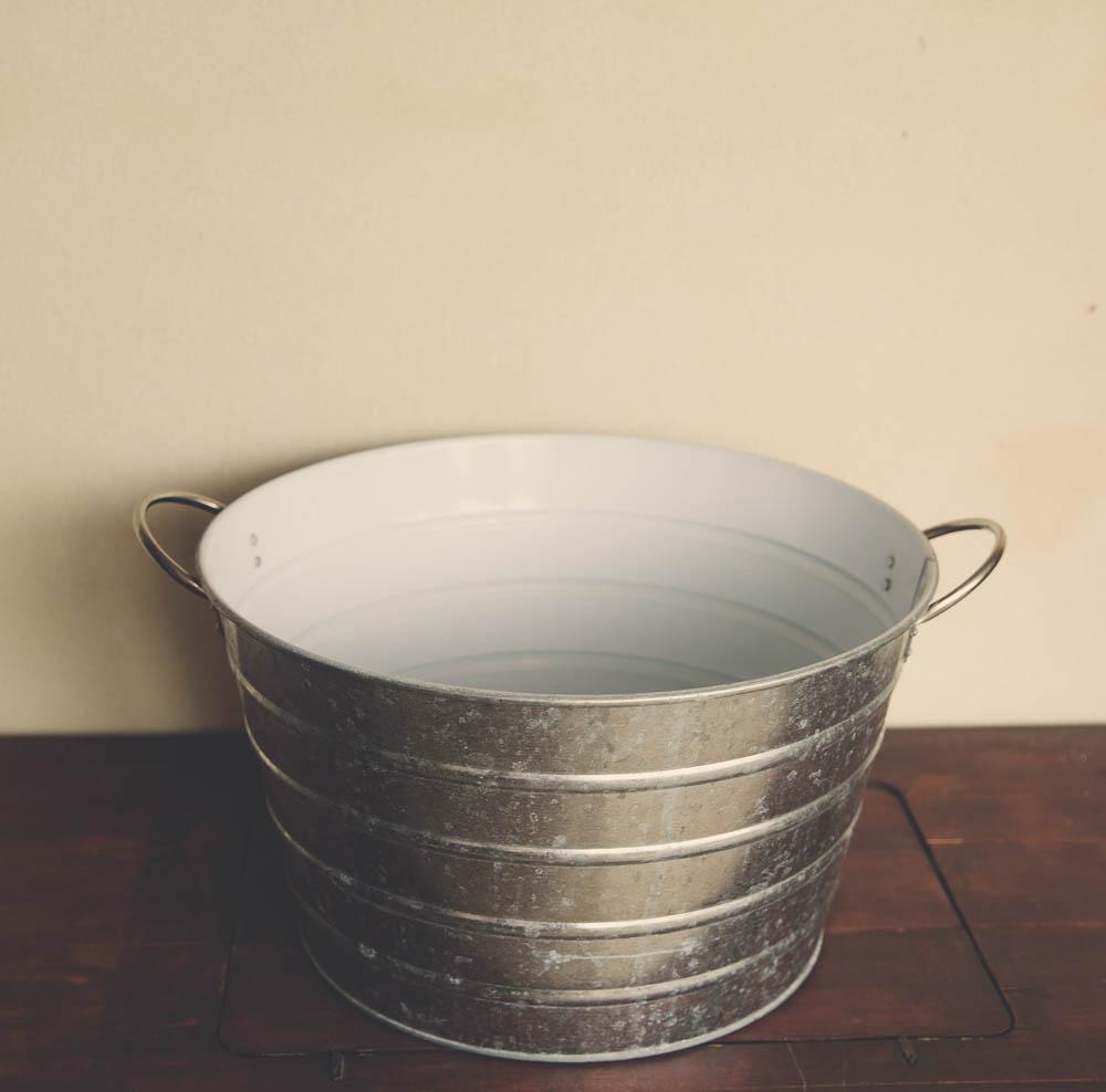 Silver Drinks Bucket