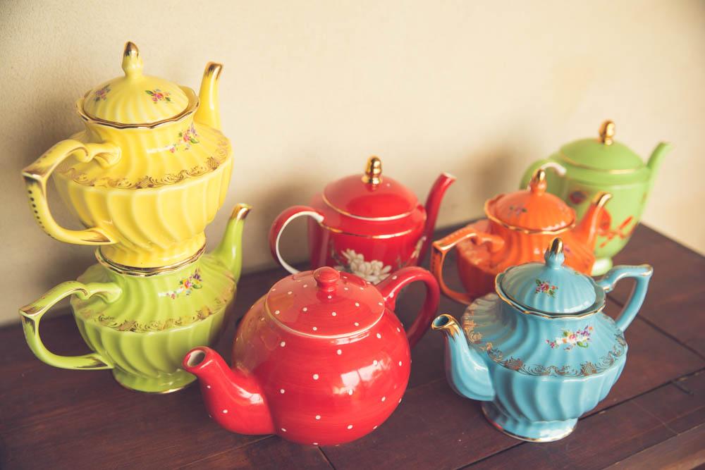 Bright Tea Pots