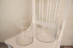Round Glass Jars