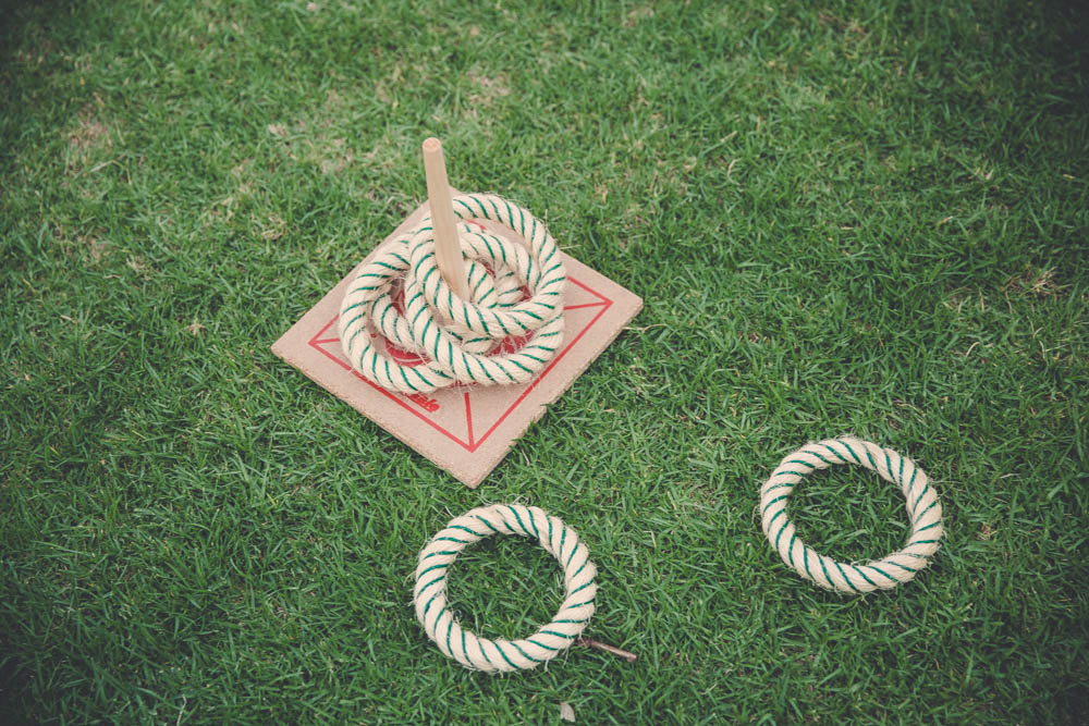 Quoits Lawn Game