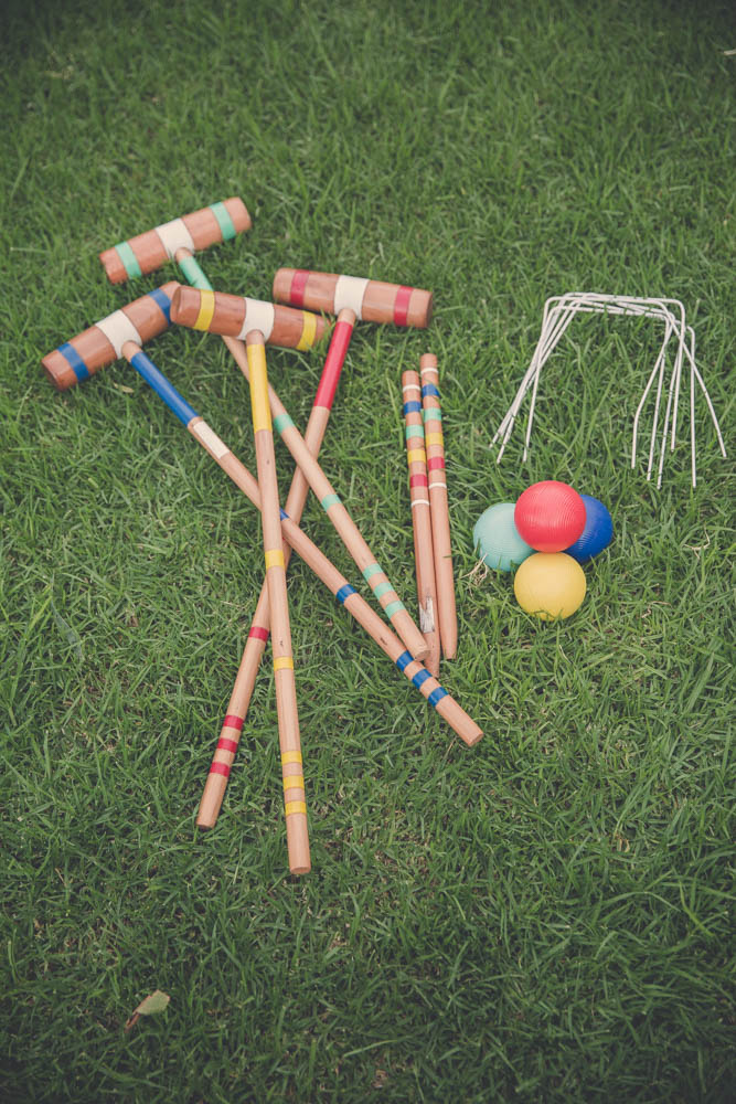 Croquet Lawn Game