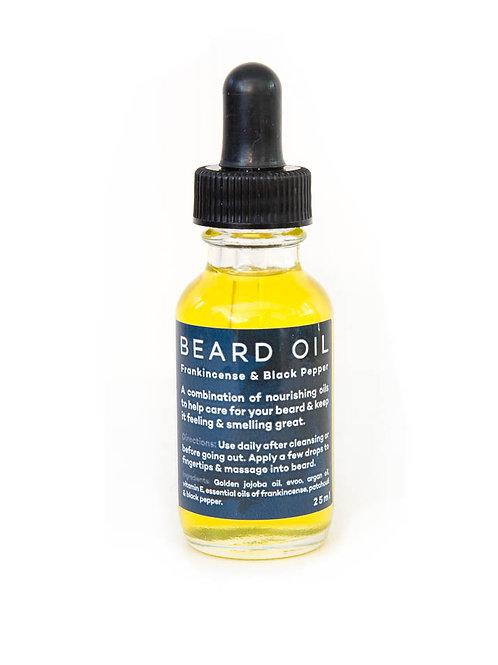 BEARD OIL - Frankincense & Black Pepper