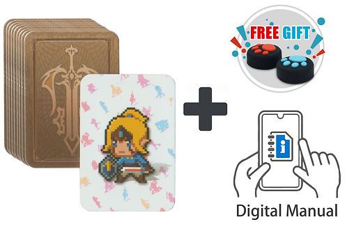 BoTW NFC Game Card 23 Pcs with Crystal Case, Digital Manual and Free Gift