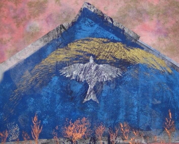 Bird and Mountain