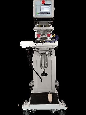Máquina dos tintas