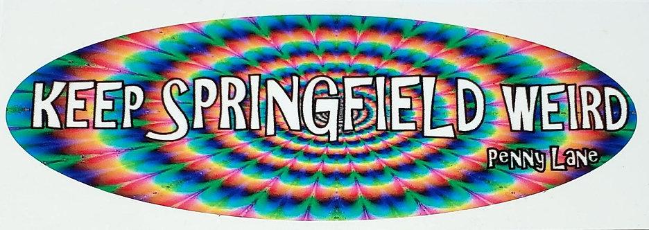 Keep Springfield Weird Sticker
