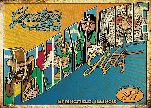 Penny Lane Postcard