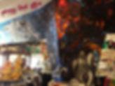 mural, artwork, custom painting,buddha statue