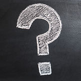 question mark and frequently asked questions