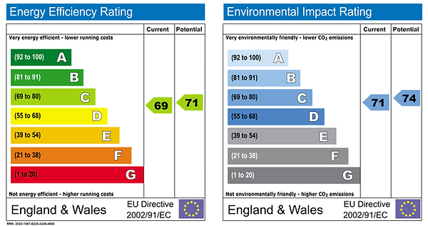 energy efficiency rating and environmental impact rating form