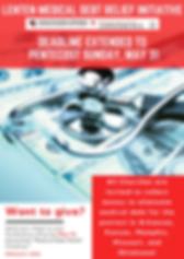 Lenten Medical Debt Relief Initiative Gr