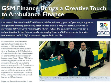 GSM - the leaders in Ambulance Finance