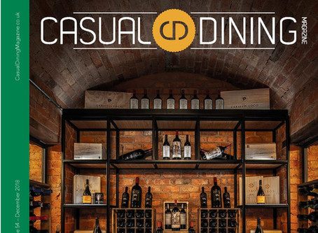 GSM featured in Casual Dining Magazine