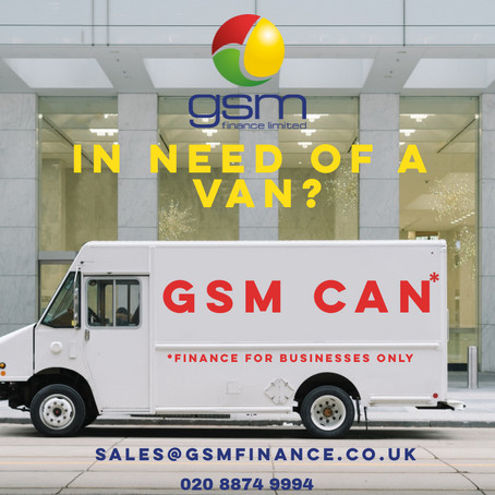 Logistical Van Finance