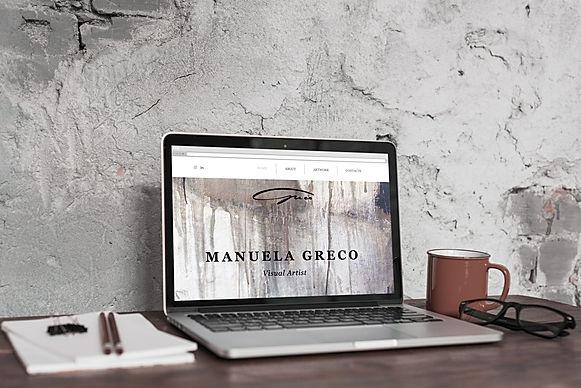 manuela-greco-art-website-homepage-real-