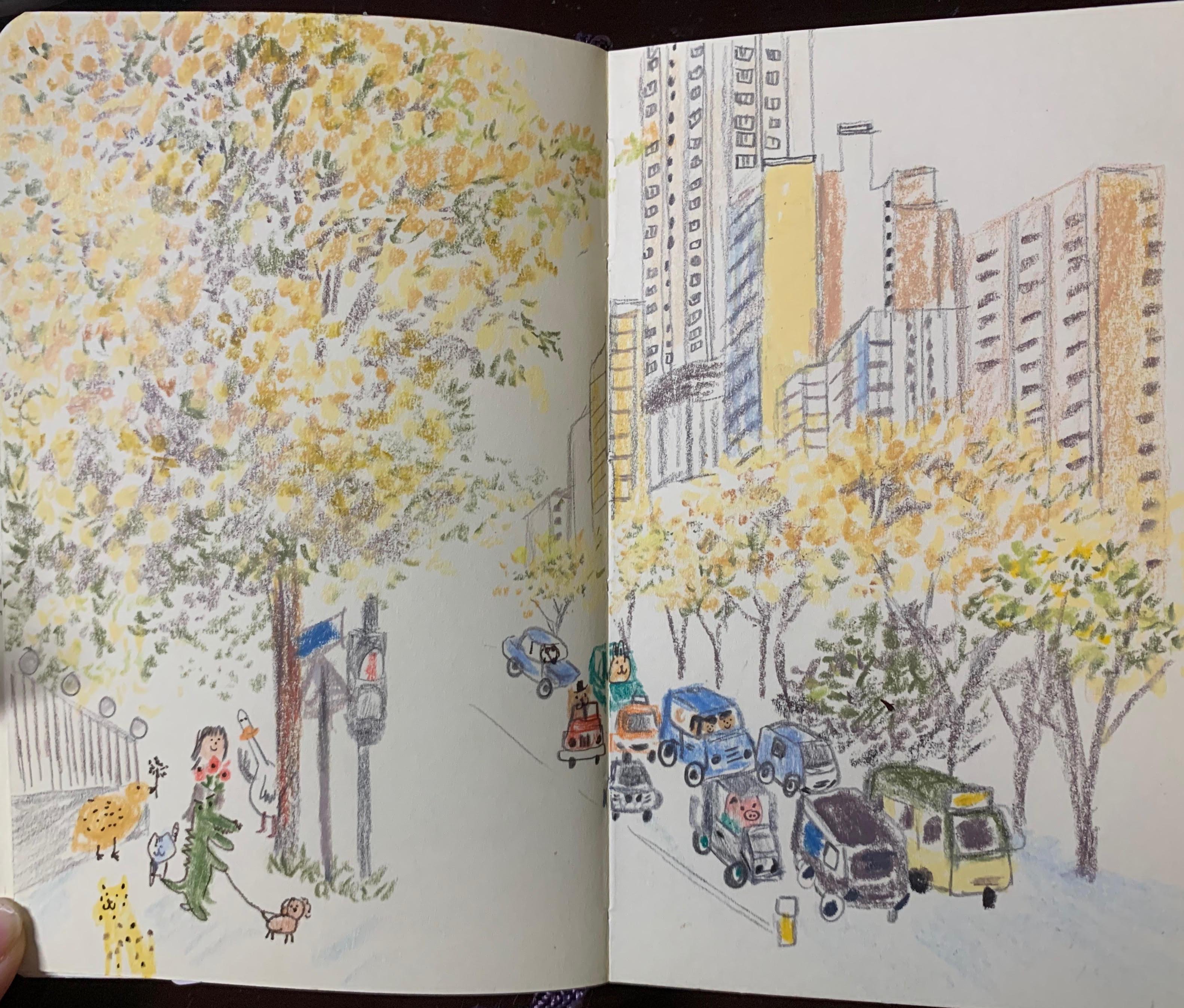 寫給界限街的樹木