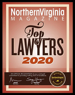 2020 Top Lawyers plaque graphic