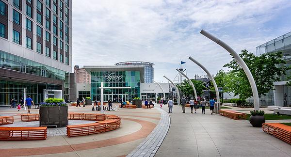 Photo of Tysons Corner Mall outside entrance.