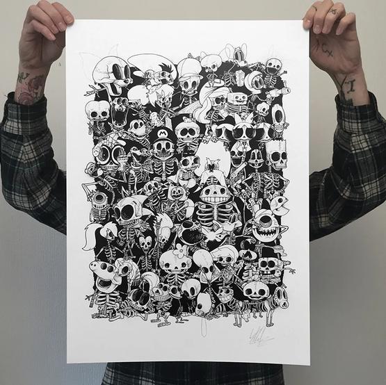Bones Collage