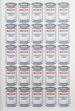Tesco Soup Cans (2004)