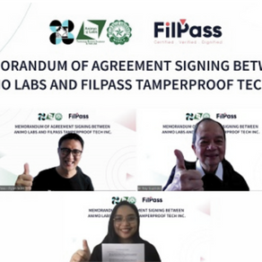 Animo Labs to market FilPass blockchain-based tamper-proofing tech