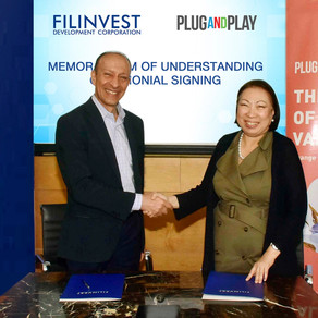 Filinvest and 'Plug and Play' form alliance to accelerate digital innovations in the Philippines