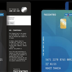 Decentro, YES BANK partner to launch Co-Branded Prepaid Cards