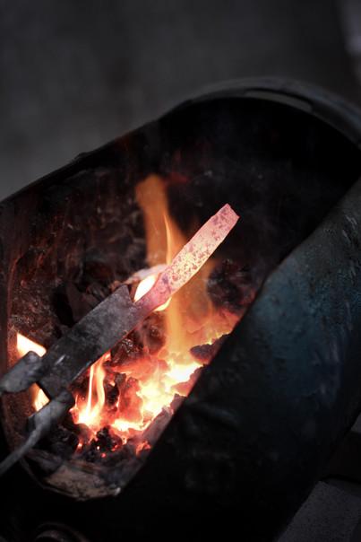 Ma forge à charbon