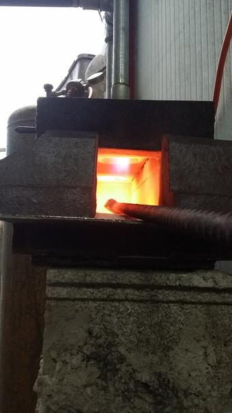 Ma forge à gaz