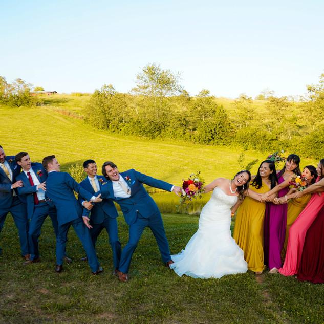 Wedding at Asheville NC