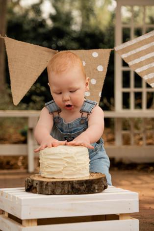 cake smash photo shooot