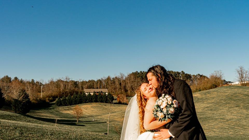 Wedding at Ridgeview Venue, Asheville NOrth Carolina