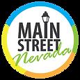 Main Street Nevada, Iowa Logo