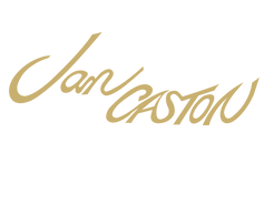 Jan Caston logo in gold