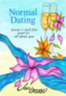 Front cover of debut romantic title, Normal Dating.